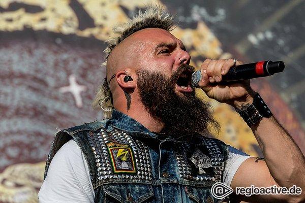 Losgelassen - Bilder von Killswitch Engage als Opener von Iron Maiden live in Freiburg