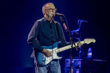 """""""Gott"""" Ding will Weile haben - Eric Clapton: Fotos des Gitarristen live in der Lanxess Arena Köln"""
