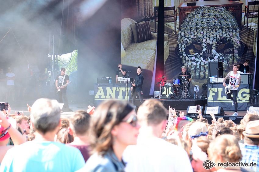 Anti-Flag (live beim Happiness Festival, 2018)
