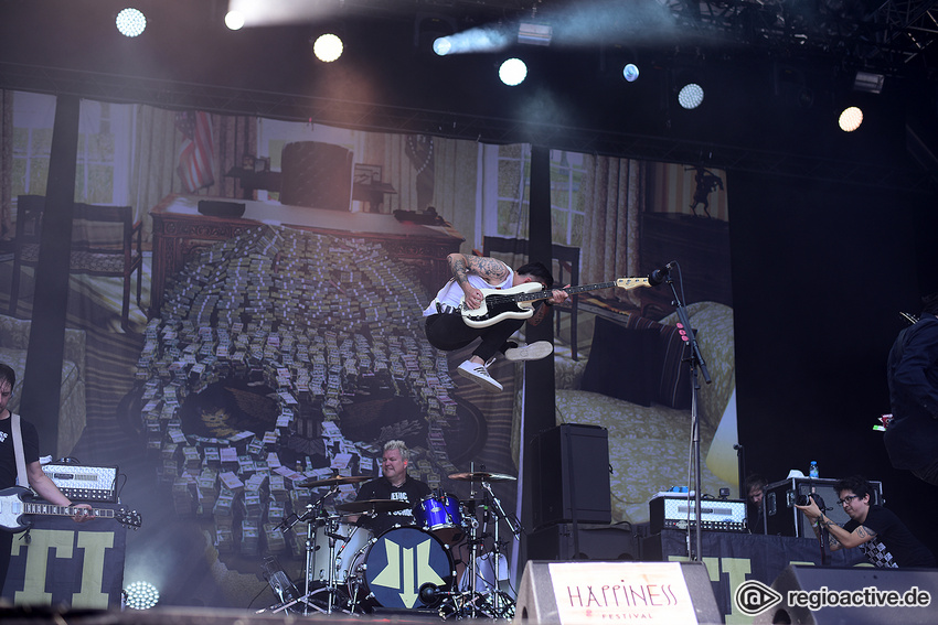 Anti-Flag (live beim Happiness Festival, 2018)