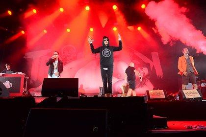 Rhymes im Blut - Tabulos: Fotos von Trailerpark live beim Happiness Festival 2018