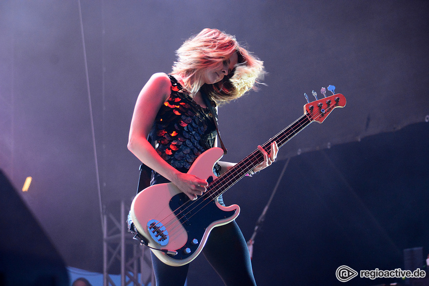 The Subways (live beim Happiness Festival, 2018)