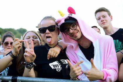 Farbenfrohes Glück - Impressionen vom Happiness Festival 2018