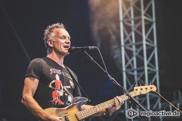 Jubel nach dem Jubiläum - Jazzopen Stuttgart 2019 mit Sting und Bob Dylan