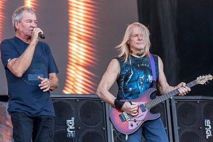 Nochmals Vollgas - Heiß: Fotos von Deep Purple live im SparkassenPark Mönchengladbach