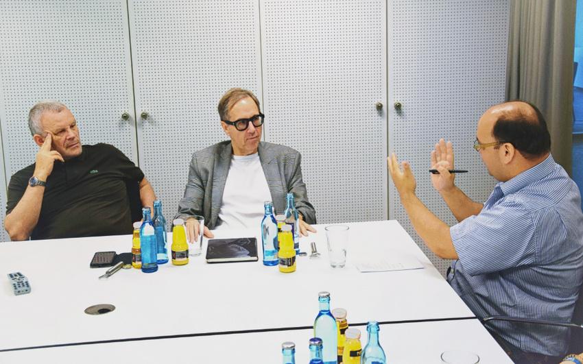 Jubiläum: Udo Dahmen und Hubert Wandjo über 15 Jahre Popakademie Baden-Württemberg