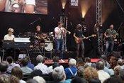 Live-Bilder von Thomas Siffling als Vorgruppe von Stanley Clarke in Stuttgart