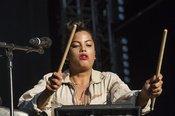 Bilder von Ibeyi als Opener von Jamiroquai live bei den Jazzopen Stuttgart