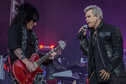 Rebellen im Doppelpack - Billy Idol und Steve Stevens als Duo auf Tour