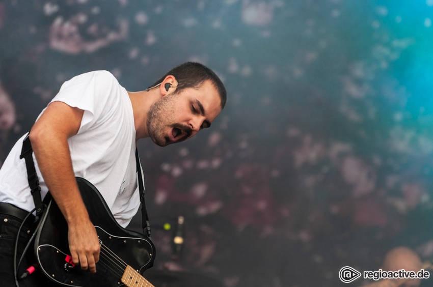 Heisskalt (live beim Deichbrand Festival 2018)