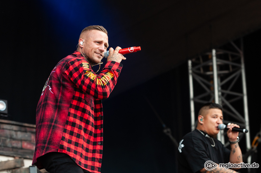 Kontra K (live beim Deichbrand Festival 2018)