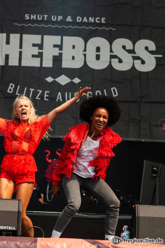 Chefboss (live beim Deichbrand Festival 2018)
