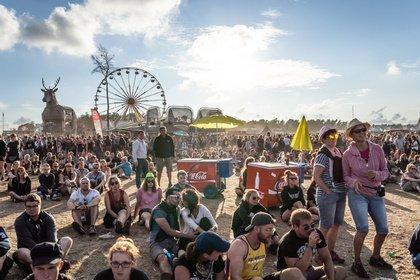 Ausgelassen - Impressionen vom Sonntag beim Deichbrand Festival 2018