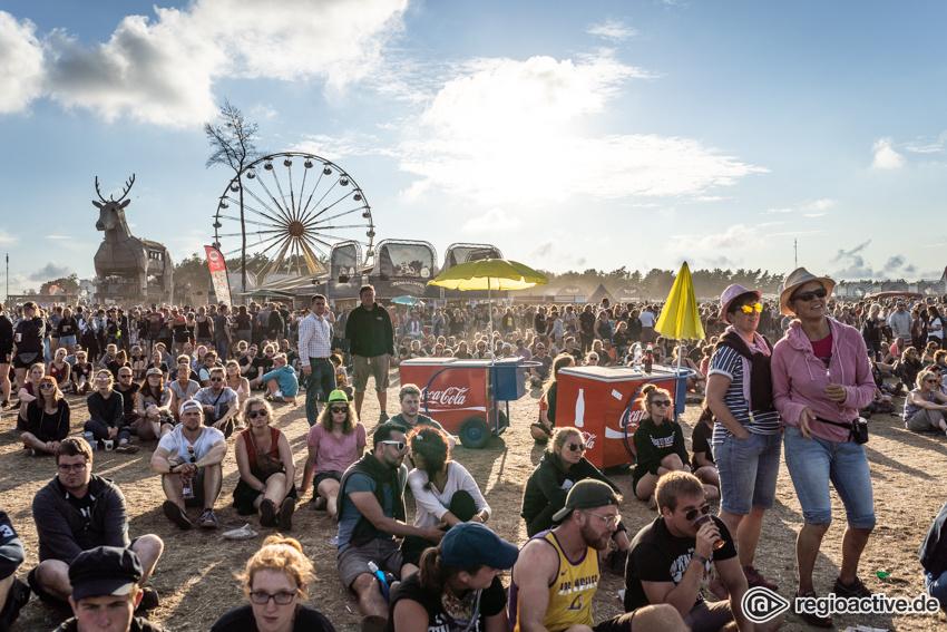 Impressionen vom Sonntag beim Deichbrand Festival 2018