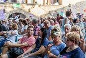 Lars Reichow: Bilder des Kabarettisten live beim Da Capo Festival 2018 in Alzey
