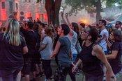 Schweißgebadet: Live-Bilder der Donots beim Da Capo Festival in Alzey