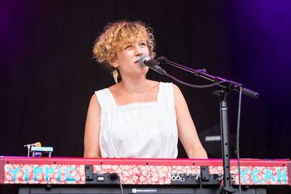 Künstlerisch - Yippie Yeah: Live-Fotos des Trios beim Heimspiel Knyphausen 2018