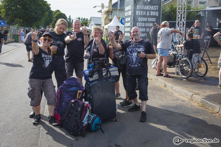 Impressionen vom Mittwoch beim Wacken Open Air 2018.
