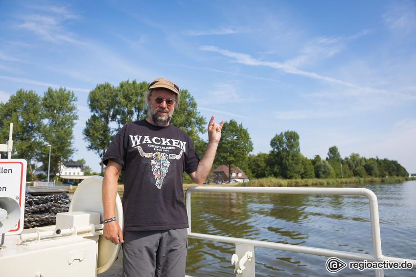 Wacken Open Air am Donnerstag startet mit Hitze.