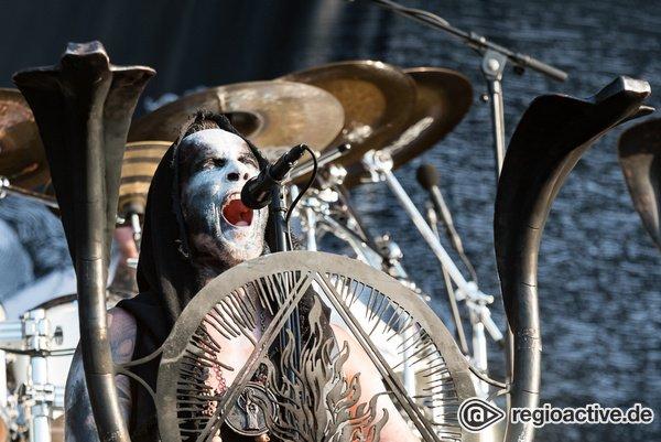 Polnische Härte - Behemoth: Live-Bilder der Death Metal-Band live beim Wacken Open Air 2018
