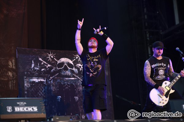 Institution - Hatebreed: Fotos der Hardcore-Metaller live beim Wacken Open Air 2018