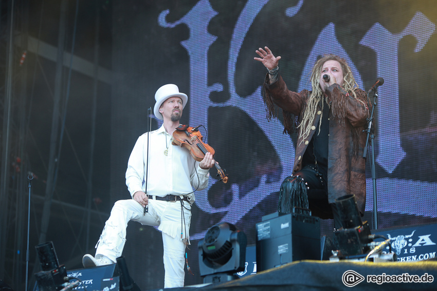 Korpiklaani (live beim Wacken Open Air, 2018)