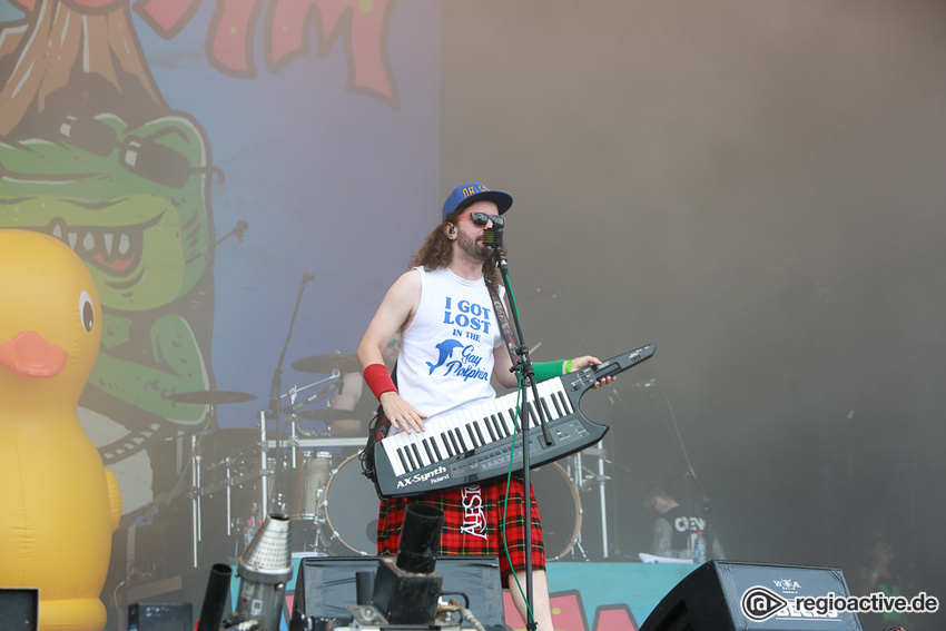Alestorm (live beim Wacken Open Air, 2018)