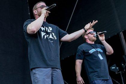 Schlaue Beats und schlaue Sätze - Live-Fotos der Stieber Twins als Opener der Beginner live in Wiesbaden