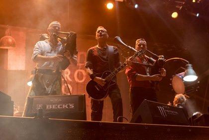 Dudelsäcke - Abschluss: Live-Bilder von In Extremo beim Wacken Open Air 2018