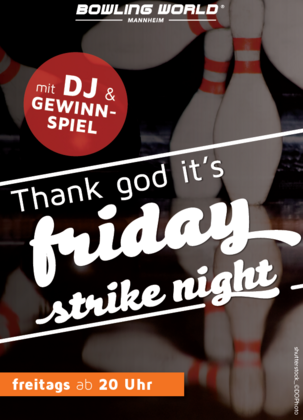 Friday Strike Night