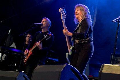 Rocklady - Live-Fotos von Suzi Quatro & Band beim Open Air am Kloster Lorsch 2018