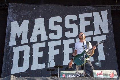 Ganz nah - Massendefekt: Bilder ihres Live-Gigs auf dem Highfield Festival 2018