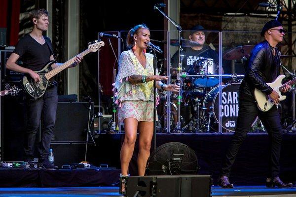 Frauenpower - Bilder von Sarah Connor und Candy Dulfer live bei Jazz & Joy 2018 in Worms