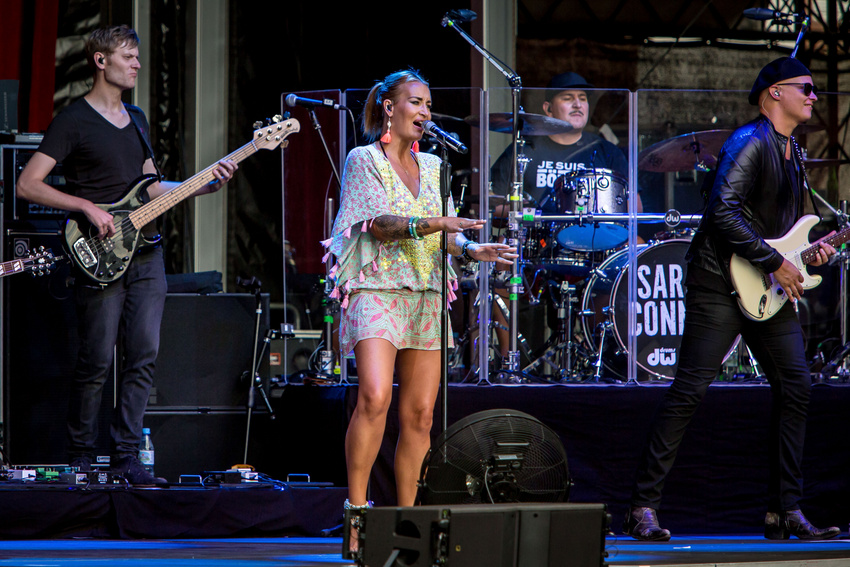 Frauenpower - Bilder von Sarah Connor und Candy Dulfer live bei Jazz & Joy 2018 in Worms