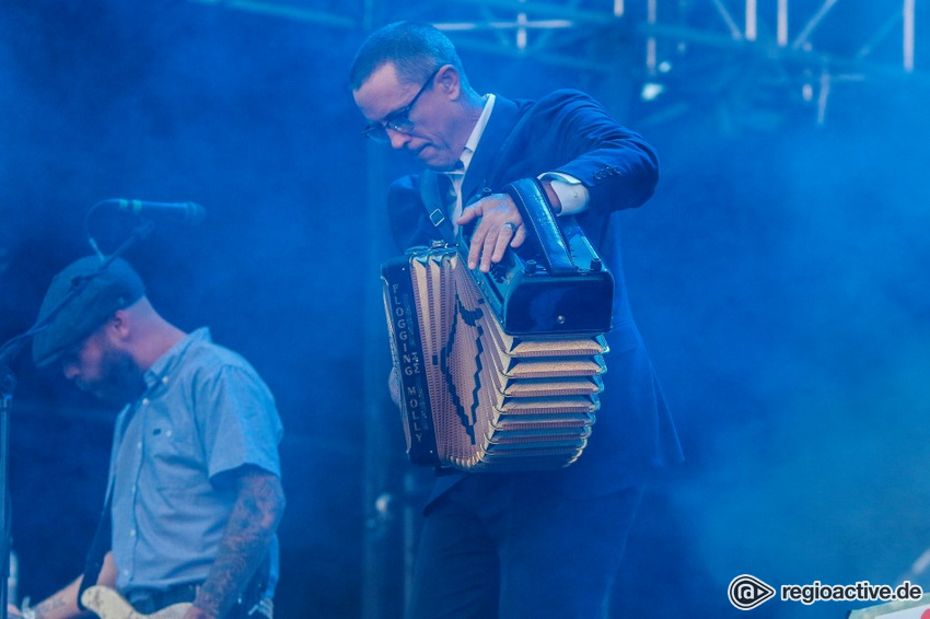 Flogging Molly (live auf dem Highfield, 2018)