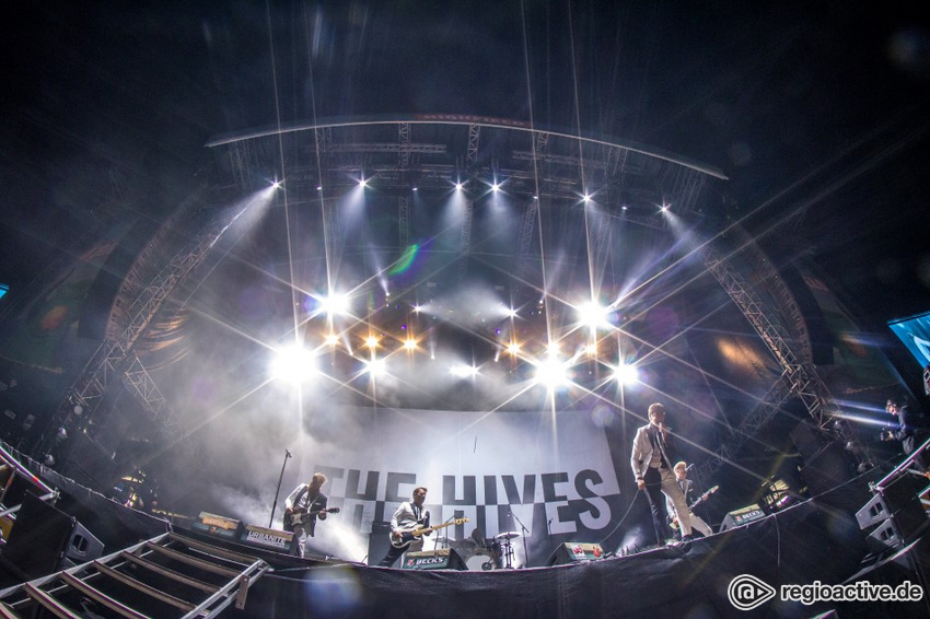 The Hives (live auf dem Highfield, 2018)