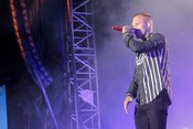 Kontra K: Bilder der Hip-Hop-Show live auf dem Highfield Festival 2018