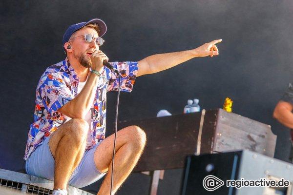 Im Westen nix Neues - Wortgewandt: Fotos von Prinz Pi auf dem Highfield Festival