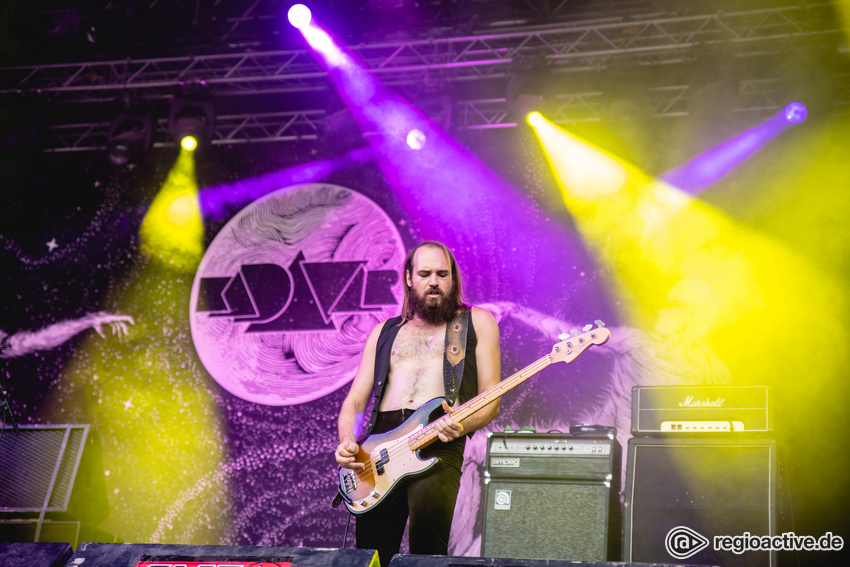 Kadavar (live beim Summer Breeze 2018)