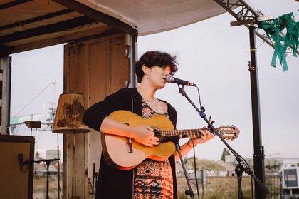Eingesprungen - Maxi von den Skinny Peaches live beim Mannheimer Brückenaward 2018