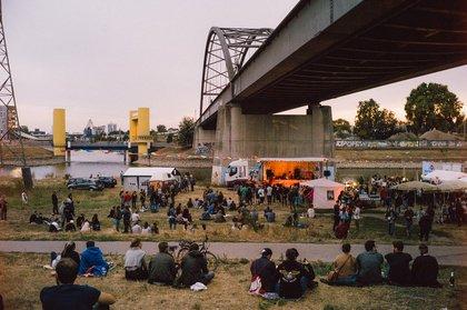 Die vielleicht einzige Awardshow ohne Award - Mannheimer Brückenaward 2018: Bilder und Bericht des Open-Air-Events