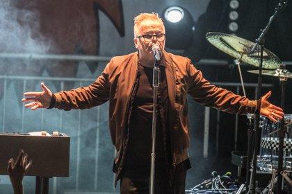 Klare Kante gegen Rechts - Sensation: Fotos von Herbert Grönemeyer live bei Jamel rockt den Förster 2018