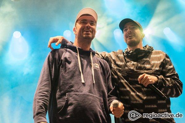 Gemeinsam gegen Rechts - Marteria & Casper: Live-Bilder der Rapper bei Jamel rockt den Förster 2018