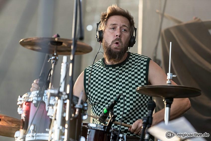 Gasmac Gilmore (live bei Rock im Hinterland, 2018)