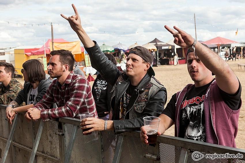 Impressionen Samstag (live bei Rock im Hinterland, 2018)