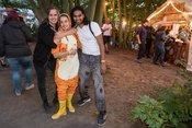 Feierlaune: Impressionen vom Jamel rockt den Förster 2018