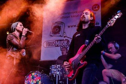 Acts aus der Region - Museumsuferfest Frankfurt 2018: Live-Bilder von der radio x-Bühne