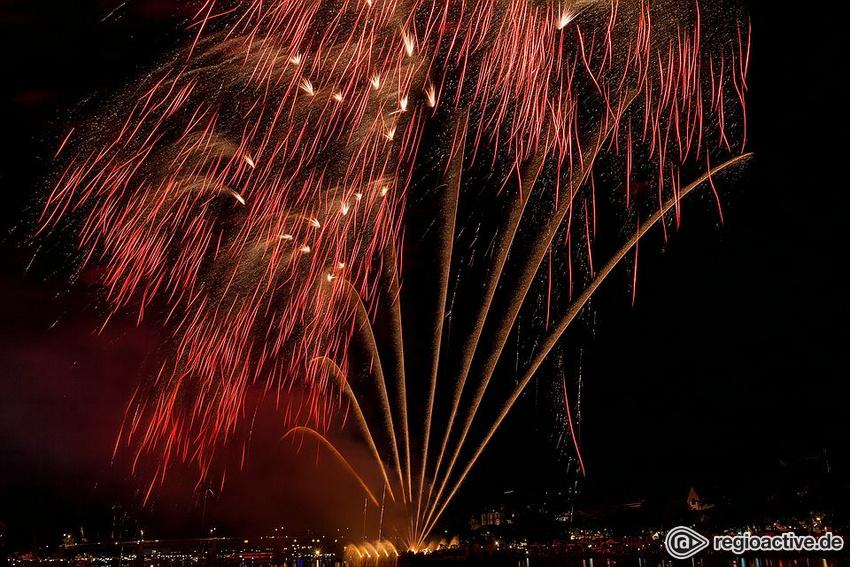 Großes Musikfeuerwerk beim Museumsuferfest Frankfurt 2018