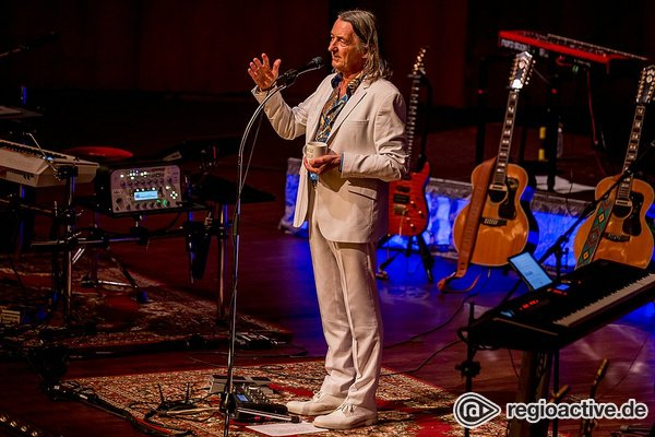 Frühstück zum Abend - Roger Hodgson: Bilder des Supertramp-Sängers live im Rosengarten Mannheim