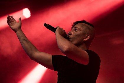 Vorsicht, Brandgefahr - Explosiv: Bilder von Schlagwetter live beim Black Castle Festival Mannheim